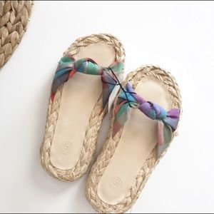 Urban Outfitters Willow Knotted Jute Color…